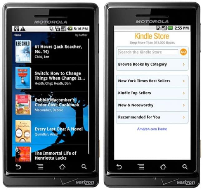 Android-kindle-app