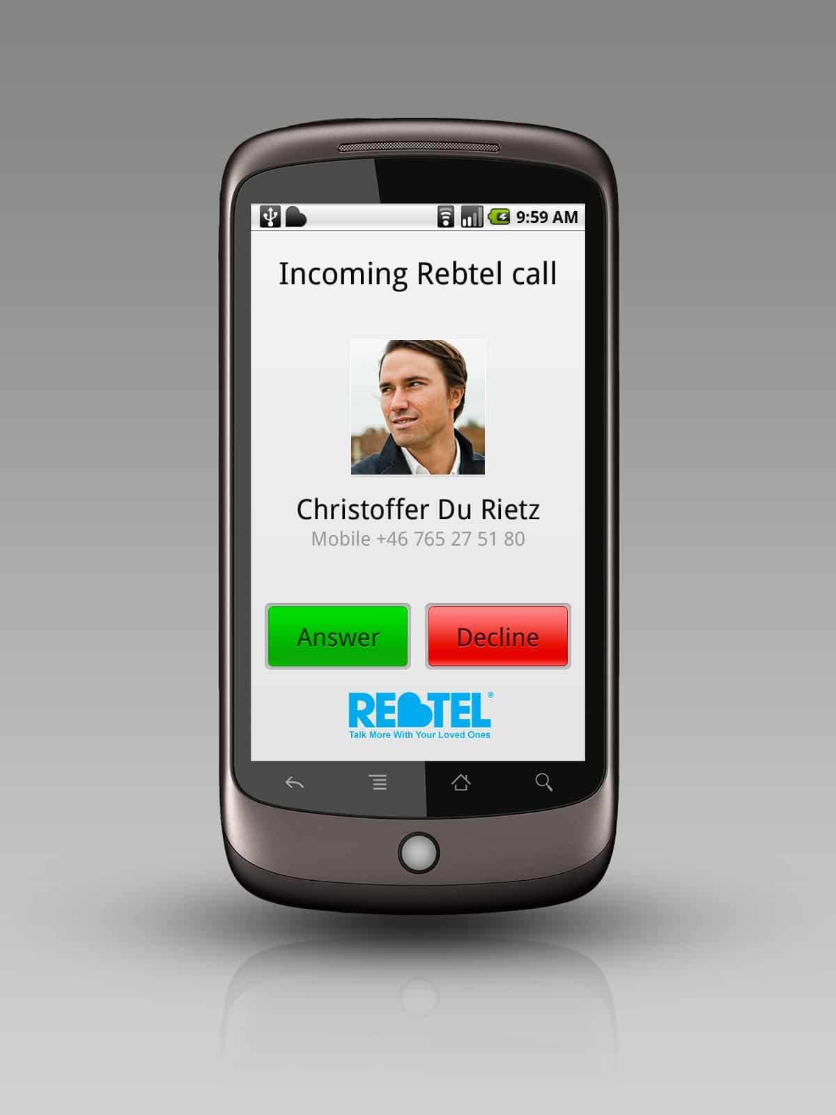 Android_Rebtel_Incomingcall