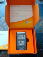 HTC Aria unboxed