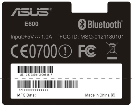 asus-e600-fcc-label