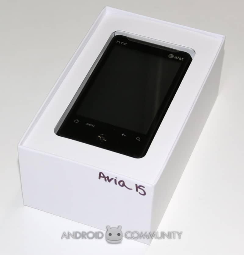 htc aria android att 01 AndroidCommunity.com