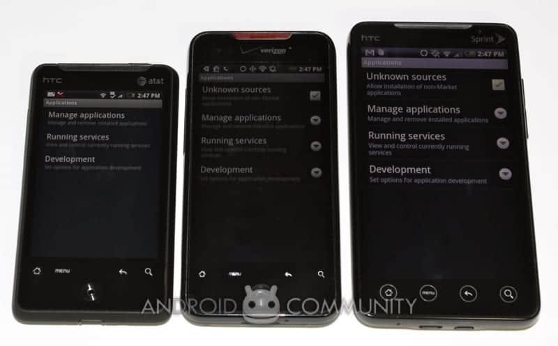 htc aria android att 15 AndroidCommunity.com