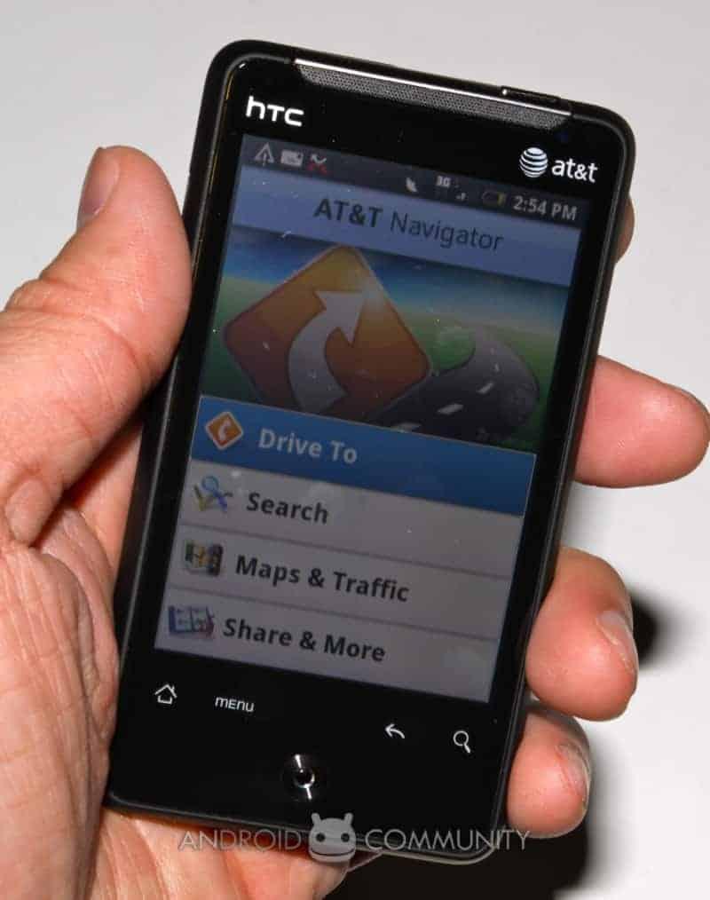 htc aria android att 33 AndroidCommunity.com