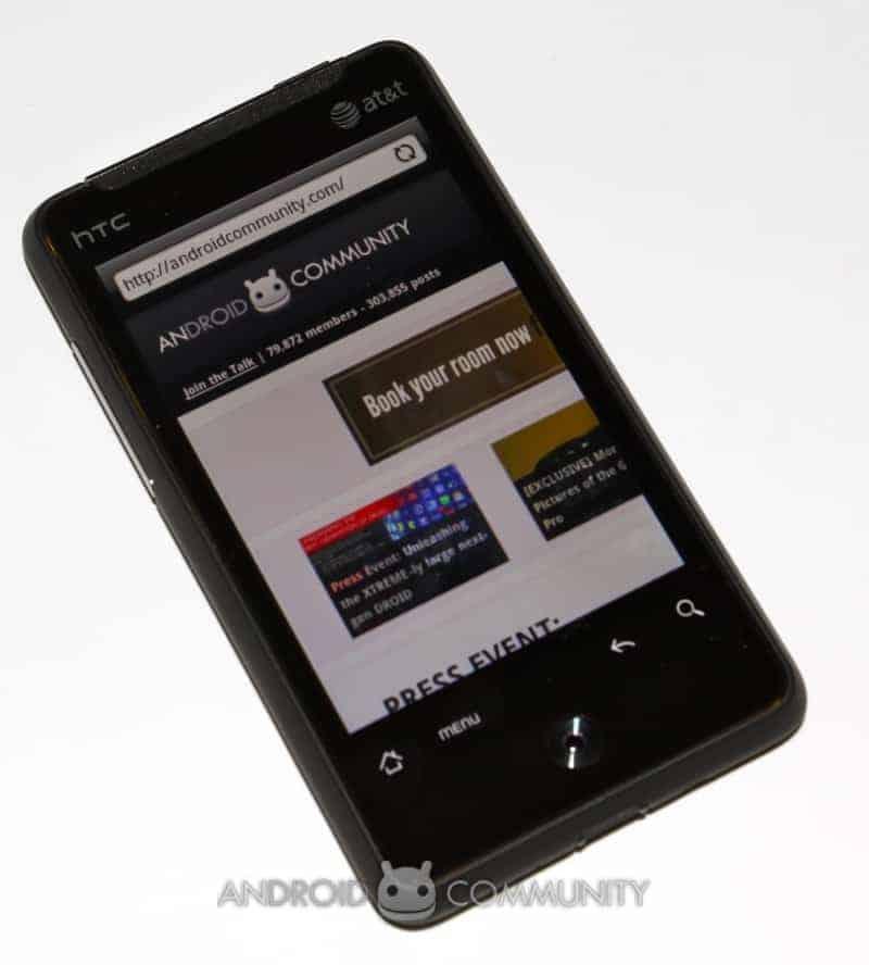 htc aria android att 42 AndroidCommunity.com