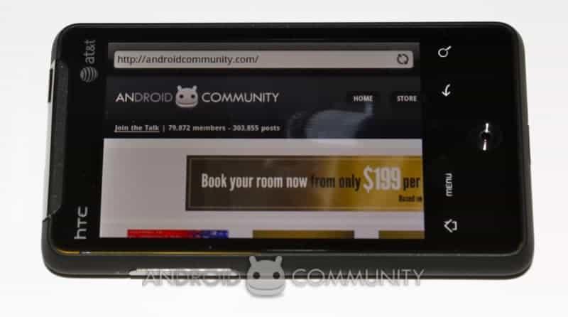 htc aria android att 43 AndroidCommunity.com