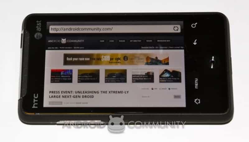 htc aria android att 44 AndroidCommunity.com