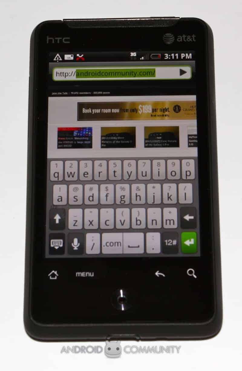 htc aria android att 47 AndroidCommunity.com
