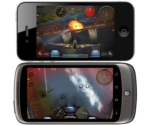 androidgamevsiphonegame