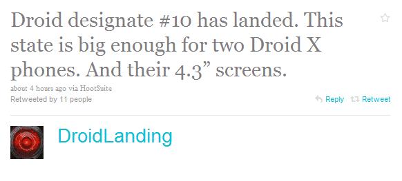 droid x texas