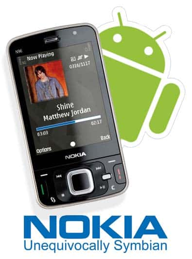 nokia-with-android-logo