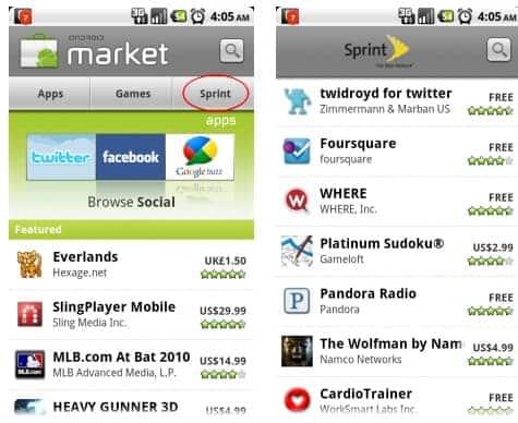 sprint-apps