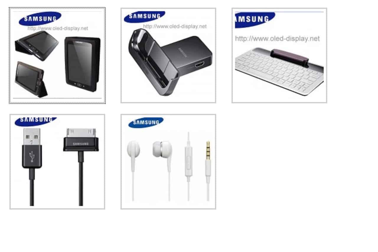 samsung accessories. found: accessories for samsung galaxy tab s