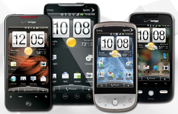 HTC's All-star lineup: Incredible, EVO 4G, Hero, Eris