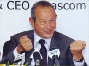 Orascom Telecom Holding SAE chairman Naguib Sawiris
