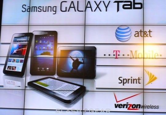 GalaxyTab Carriers
