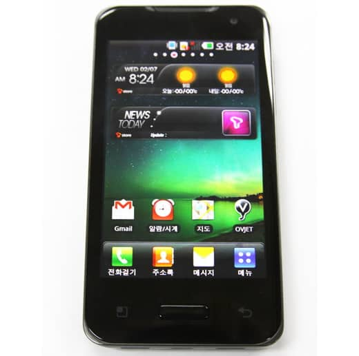 LG Star Android dual core Korea
