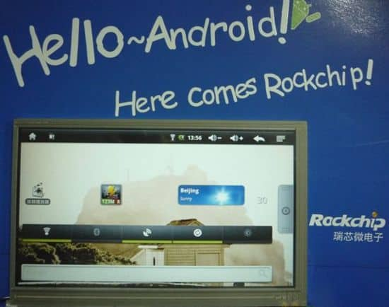 Rockchip-android-2.1-chip