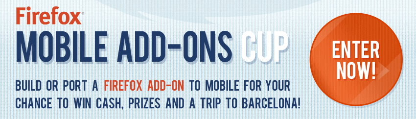 firefox mobile add-ons cup