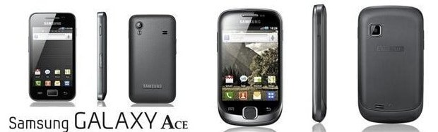 Samsung Galaxy Ace & Suit