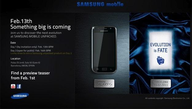 Samsung Teaser site