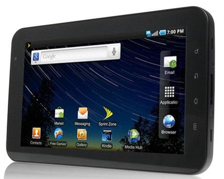 Sprint Galaxy Tab 1