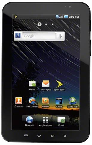 Sprint Galaxy Tab 2