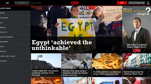 CNN Broadsheet View