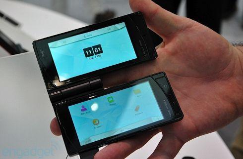 Fujitsu_dual_touchscreen_phone_MWC_20112