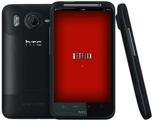 HTC-Pyramid-4G with Netflix