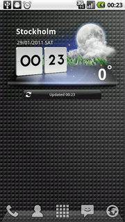 LG Weather Widget