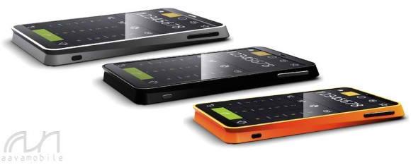 Avaa's Intel Atom Medfield based Meego phone