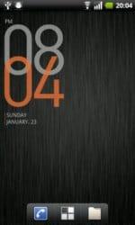 Cowon D3 Clock Orange
