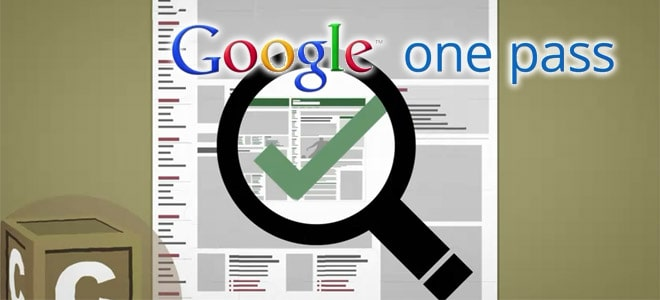 google-one-pass