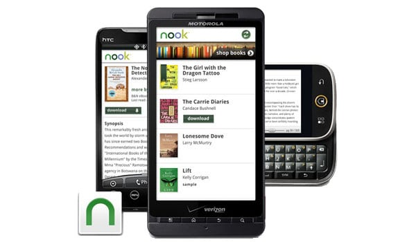 nook android app