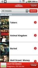 RedBox Android App Screenshot -- (phandroid)
