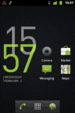 Cowon D3 Clock Green