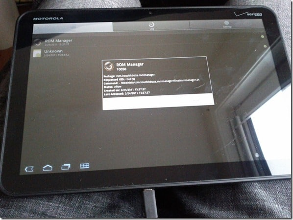 Xoom Rooted
