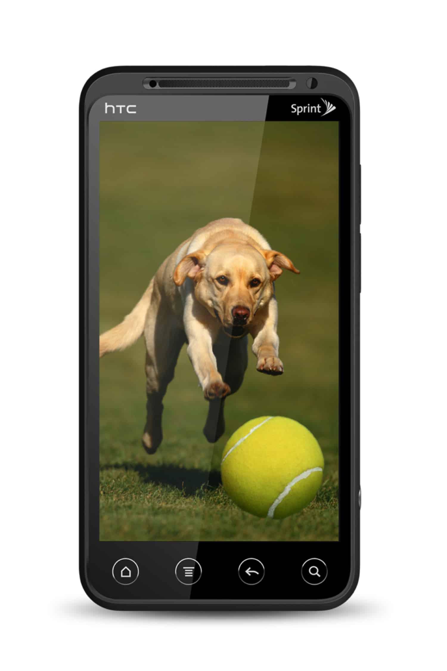 HTC EVO 3D front
