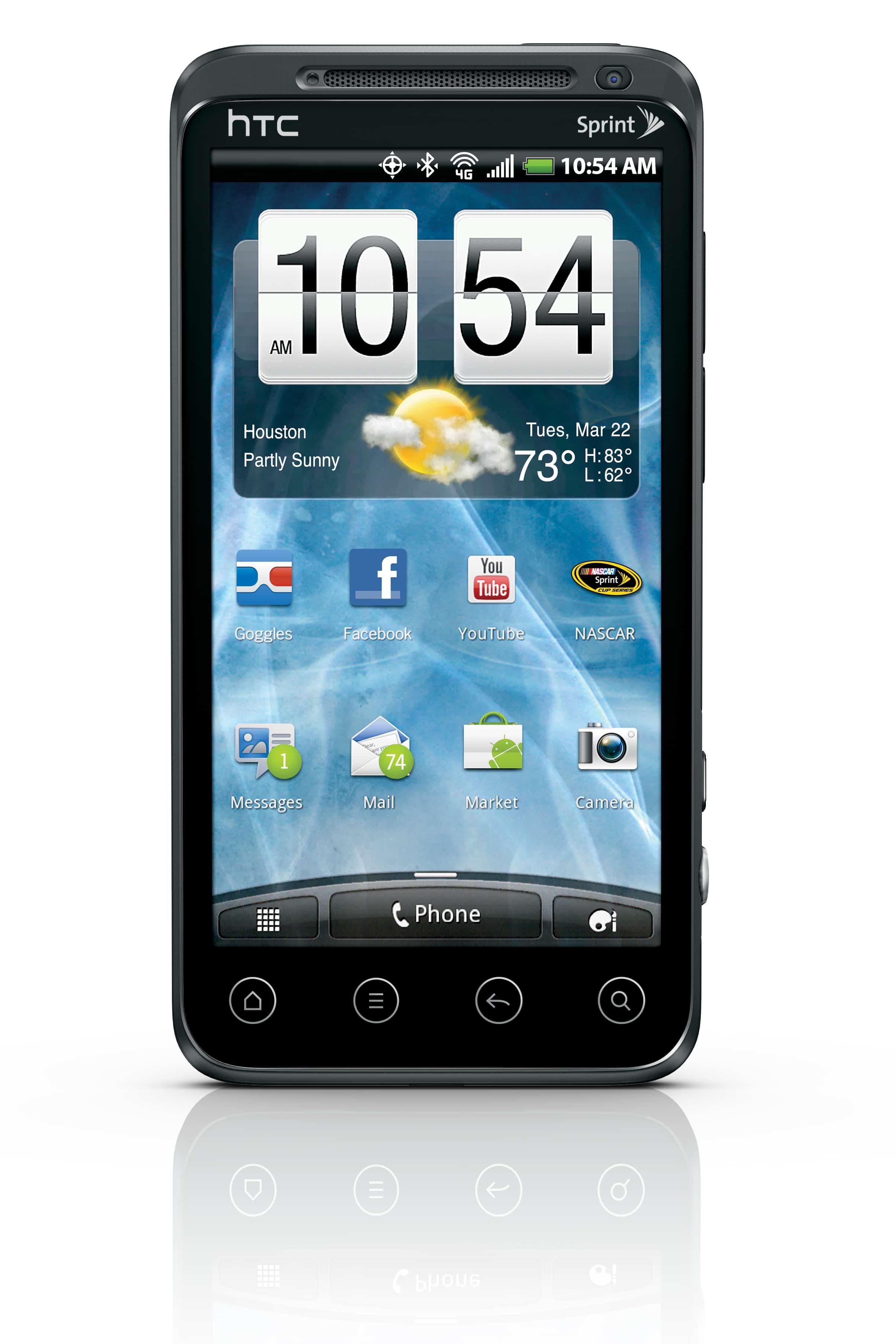 HTC EVO 3D front2