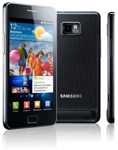 Samsung Galaxy S II 392x500