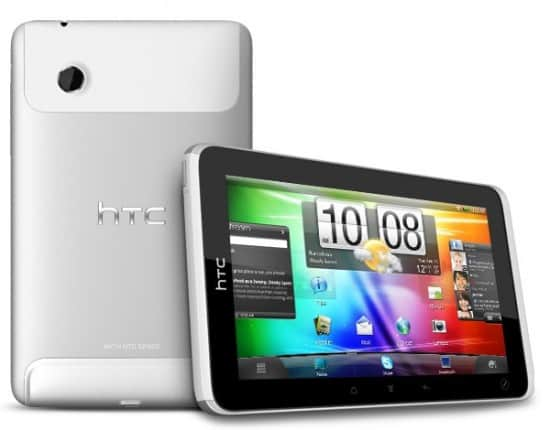 htc flyer tablet 550x430