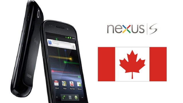 nexus s canada