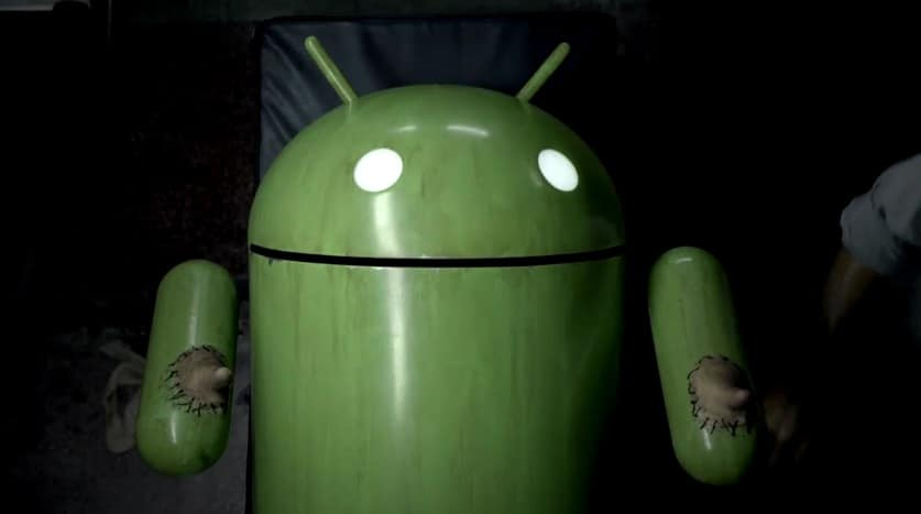 sony ericsson android thumbs super bowl ad1