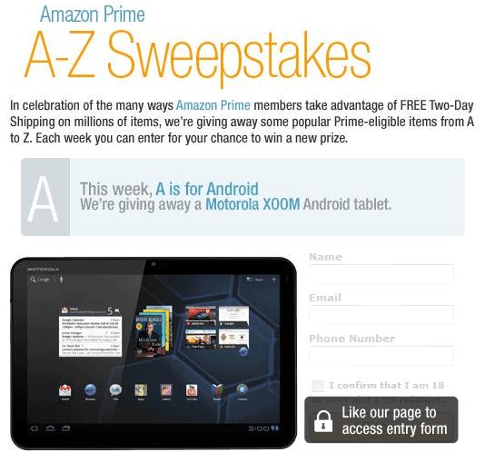 Amazon.com - Sweepstakes