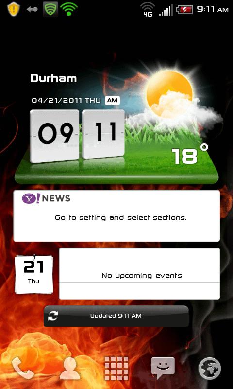 Optimus 2x weather