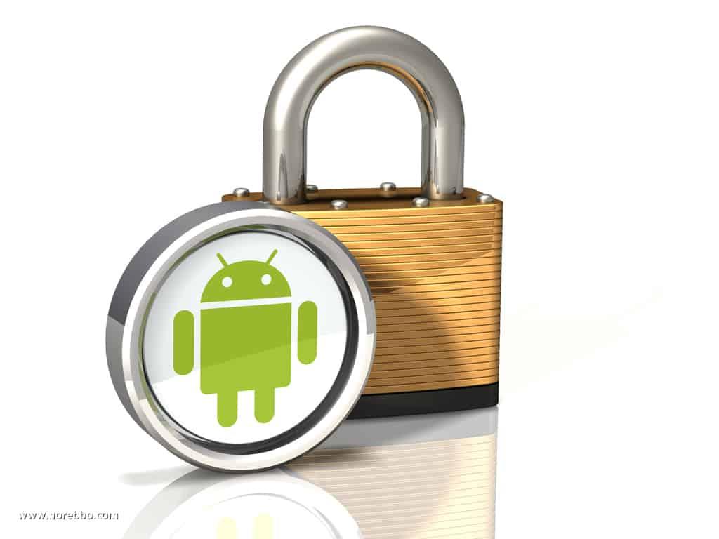 lock symbol android