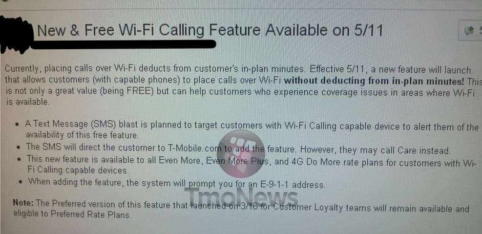 t mobile wifi
