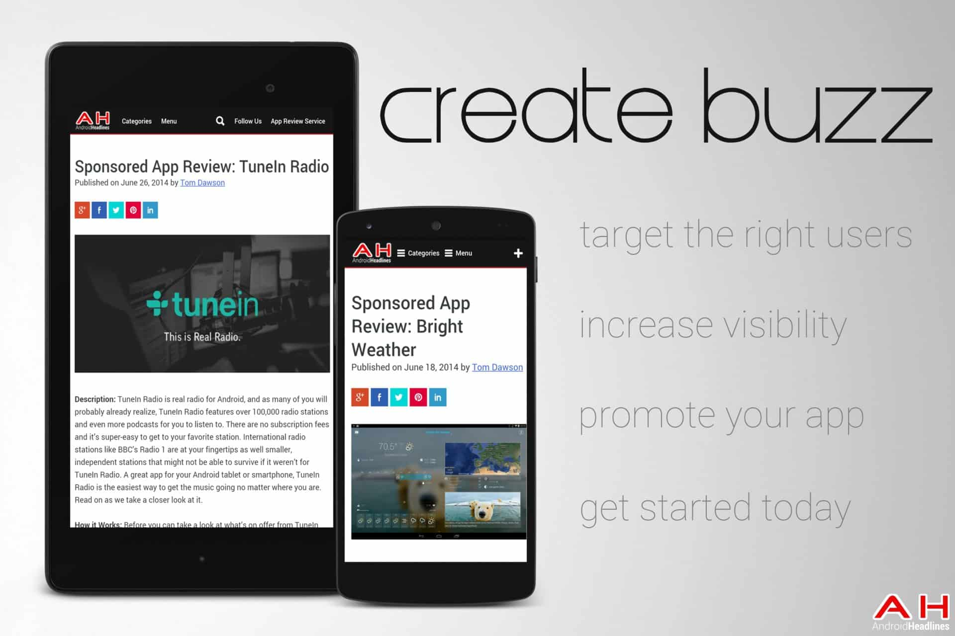appvertise create buzz 1