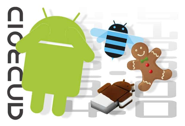 Android-logo-with-Honeycomb-logo-gingerbread-logo-and-ice-cream-sandwich-logo