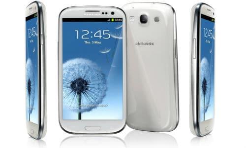 Galaxy S3 white